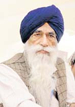 File photo of Pakistan Gurudwara Management Committee President Sham Singh.