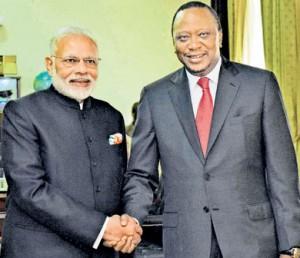 India and kenia