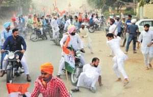 Akali-Congress workers' scuffle